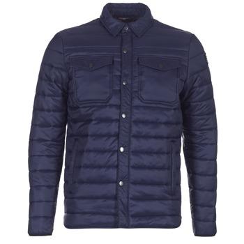 Textil Muži Prošívané bundy Schott NIELS Tmavě modrá