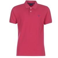 Textil Muži Polo s krátkými rukávy Gant CONTRAST COLLAR PIQUE RUGGER Růžová