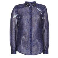 Textil Ženy Košile / Halenky Guess BORICE Modrá