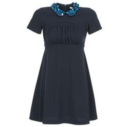 Textil Ženy Krátké šaty Manoush COMMUNION Modrá