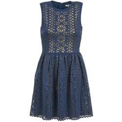 Textil Ženy Krátké šaty Manoush NEOPRENE Modrá / Zlatá