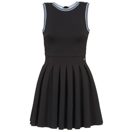 Textil Ženy Krátké šaty Manoush ATHLETE Černá