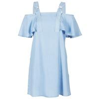 Textil Ženy Krátké šaty Guess RACUNO Modrá