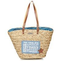 Taška Ženy Velké kabelky / Nákupní tašky Les Tropéziennes par M Belarbi AGAY Béžová / Modrá