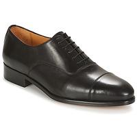 Boty Muži Šněrovací společenská obuv Brett & Sons FENOZEO Černá