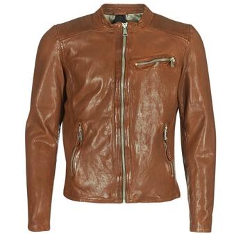 Textil Muži Kožené bundy / imitace kůže Redskins CROSS Zlatohnědá