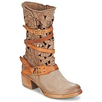 Boty Ženy Kotníkové boty Airstep / A.S.98 CRUZ Béžová