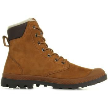 Boty Muži Kotníkové boty Palladium Pampa Sport Wps Mahogany Chocolate Hnědá