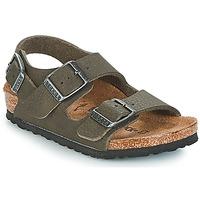 Boty Chlapecké Sandály Birkenstock MILANO Zelená
