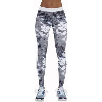 Textil Ženy Legíny Bas Bleu Dámské sportovní legíny Code white-grey