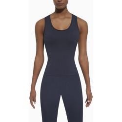 Textil Ženy Tílka / Trička bez rukávů  Bas Bleu Dámský sportovní top Cosmic top 50 blue