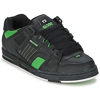 Boty Muži Skejťácké boty Globe SABRE Černá / Zelená