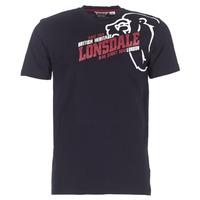 Textil Muži Trička s krátkým rukávem Lonsdale WALKLEY Černá