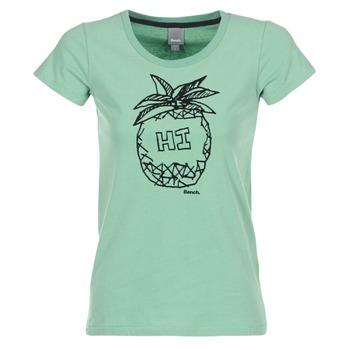 Textil Ženy Trička s krátkým rukávem Bench BLWG002642 Zelená