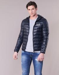 Textil Muži Prošívané bundy Emporio Armani EA7 CORE ID 8NPB02 Tmavě modrá