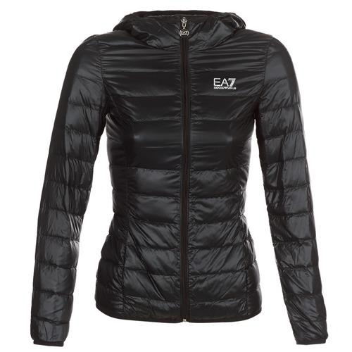 Textil Ženy Prošívané bundy Emporio Armani EA7 TRAIN CORE LADY Černá
