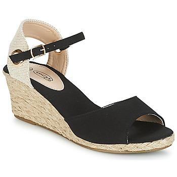 Boty Ženy Sandály Spot on BONDER Černá