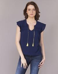 Textil Ženy Halenky / Blůzy Betty London INNATIMBA Tmavě modrá