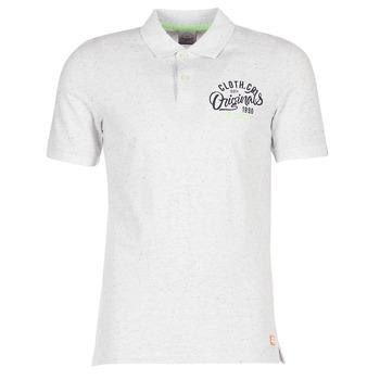Textil Muži Polo s krátkými rukávy Jack & Jones JORTRAST Bílá