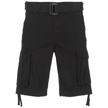 Textil Muži Kraťasy / Bermudy Jack & Jones JJIANAKIN Černá
