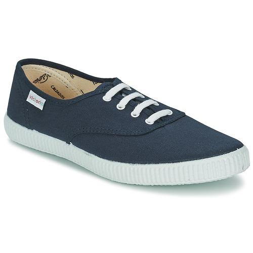 Boty Nízké tenisky Victoria INGLESA LONA Tmavě modrá