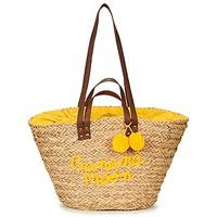 Taška Ženy Velké kabelky / Nákupní tašky Banana Moon LACELY WOODRAW Žlutá