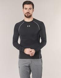 Textil Muži Trička s dlouhými rukávy Under Armour LS COMPRESSION Černá