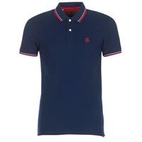 Textil Muži Polo s krátkými rukávy Selected SLHNEWSEASON Tmavě modrá