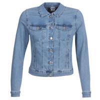 Textil Ženy Riflové bundy Vero Moda VMHOT SOYA Modrá / Světlá