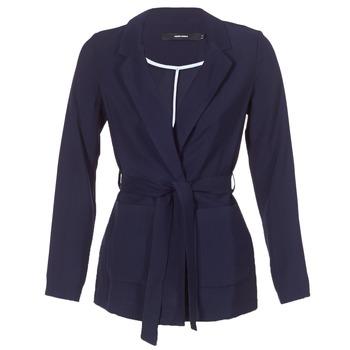 Textil Ženy Saka / Blejzry Vero Moda VMELKE Tmavě modrá