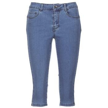 Textil Ženy Tříčtvrteční kalhoty Vero Moda VMHOTSEVEN Modrá