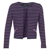 Textil Ženy Saka / Blejzry Vero Moda VMULA Tmavě modrá / Růžová