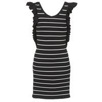 Textil Ženy Krátké šaty Vero Moda VMABHY Černá / Bílá