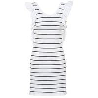 Textil Ženy Krátké šaty Vero Moda VMABHY Bílá / Černá