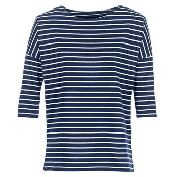 Textil Ženy Mikiny Vero Moda VMULA Tmavě modrá / Bílá