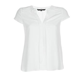 Textil Ženy Halenky / Blůzy Vero Moda VMTONI Bílá