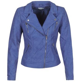 Textil Ženy Kožené bundy / imitace kůže Only STEADY Modrá