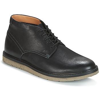 Boty Muži Kotníkové boty Clarks BONNINGTON TOP Černá / Kůže