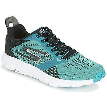 Boty Muži Běžecké / Krosové boty Skechers GO Run Ride 6 Modrá / Černá