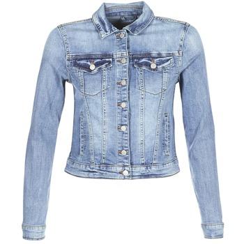 Textil Ženy Riflové bundy Vila VISHOW Modrá