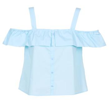 Textil Ženy Halenky / Blůzy Moony Mood IFARANDOL Modrá