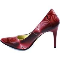 Boty Ženy Lodičky John-C Dámske lodičky SHILA červená