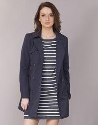 Textil Ženy Pláště Only LUCY Tmavě modrá