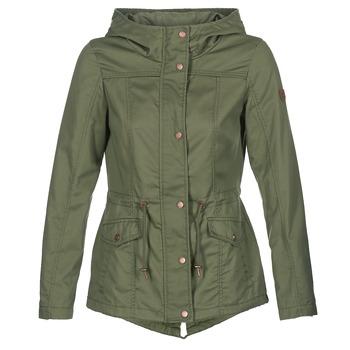 Textil Ženy Parky Only NEW KATE Khaki