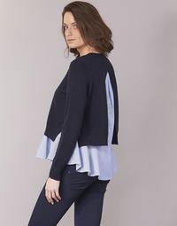 Textil Ženy Svetry Only LATISHA Tmavě modrá