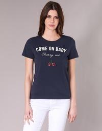 Textil Ženy Trička s krátkým rukávem Only KITA Tmavě modrá
