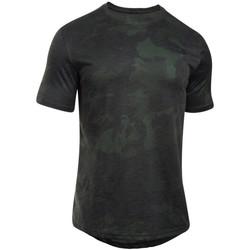Textil Muži Trička s krátkým rukávem Under Armour UA Sportstyle Core Tee vert