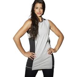 Textil Ženy Tílka / Trička bez rukávů  Reebok Sport DC Tee Dress Černé, Šedé