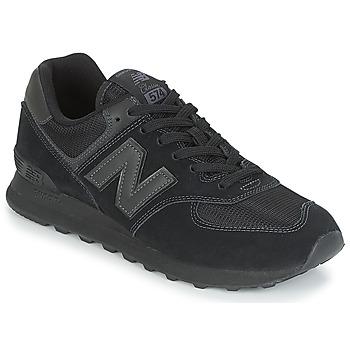 Boty Nízké tenisky New Balance ML574 Černá