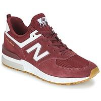 Boty Muži Nízké tenisky New Balance MS574 Bordó